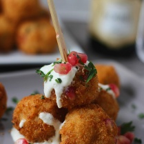 Pomegranate-Arancini-with-Goat-Cheese-Fonduta-4